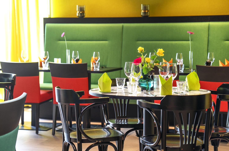 restaurant, møbler, hotell